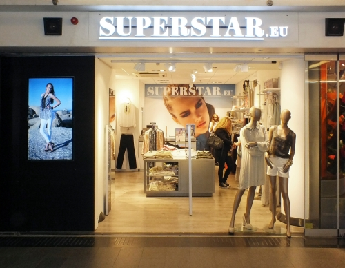 Pop-upstore Superstar Amsterdam Centraal
